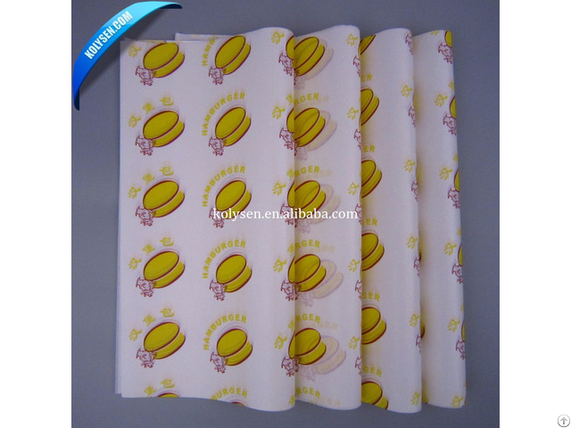 Food Grade Packing Greaseproof Paper