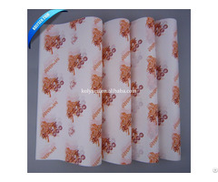 36gsm Food Grade Greaseproof Hamburger Wrapping Paper