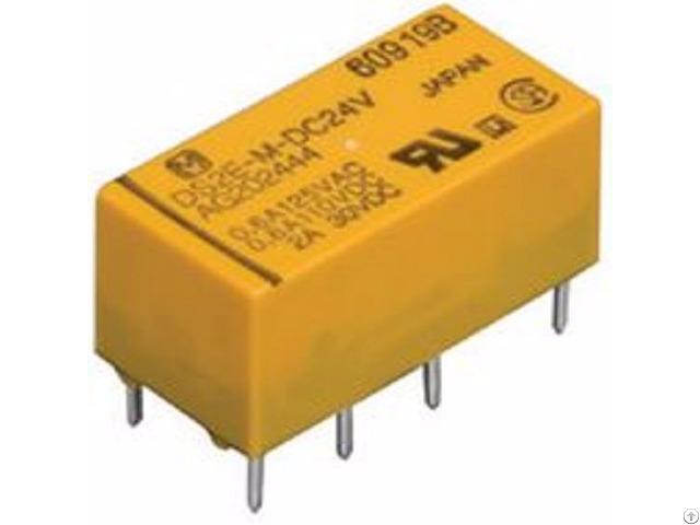 Panasonic Low Profile Signal Relay Ds2e S Dc24v