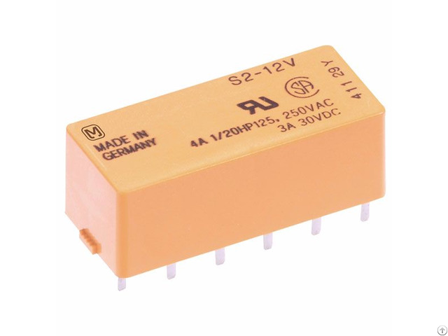 S Series Non Latching Power Relay S4 12vdc