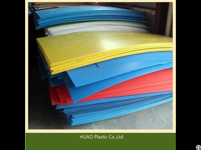 Flexible Uhmwpe Plastic Sheets