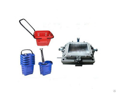 Plastic Shopping Basket Injection Mold