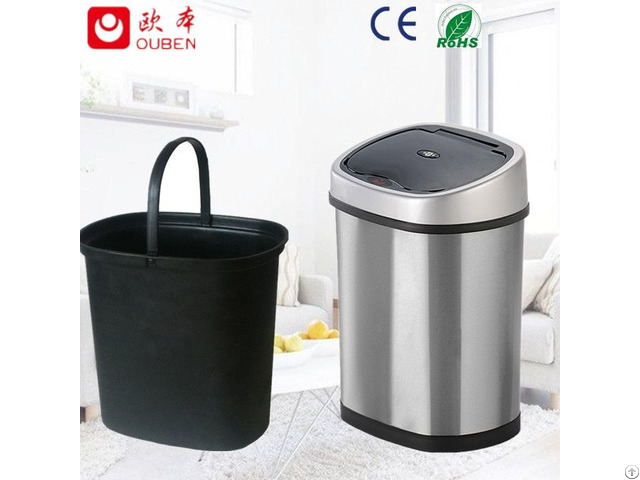 12l Hot Sell Kitchen Trash Cans Sensor Bin