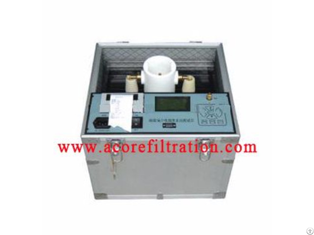 Dielectric Oil Breakdown Voltage Tester