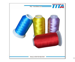 High Quality Polyster Embroidery Thread From Tita