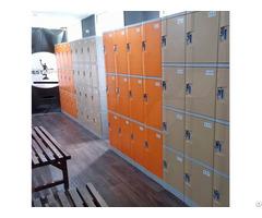 Abs Plastic Spa Lockers