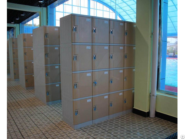 Swimming Pool Plastic Lockers