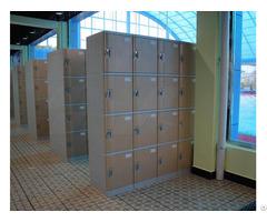 Swimming Pool Plastic Lockers