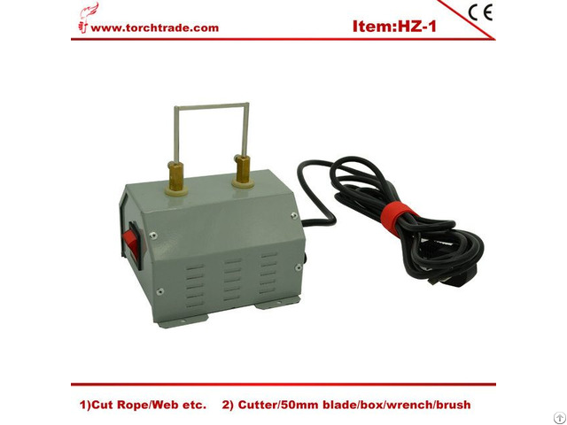 Electric Hot Knife Bench Mount Rope Cutter