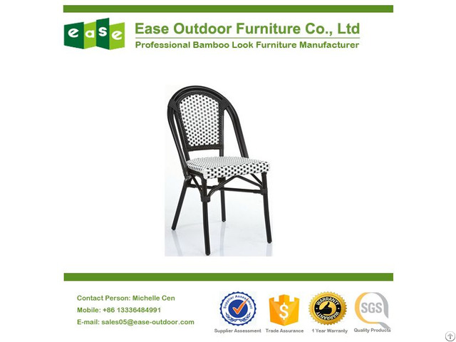 Supplying Stackable Commercial Bamboo Look Chair E6017