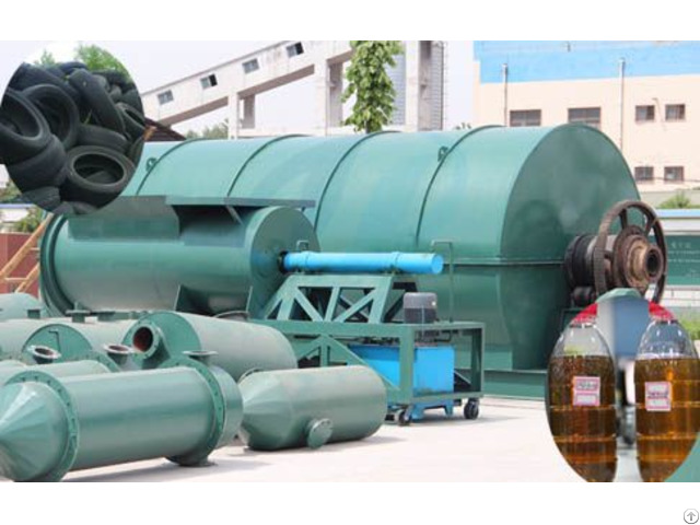 Pyrolysis Tire To Fuel Oil Plant