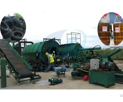 Tyre To Fuel Oil Recycling Plant