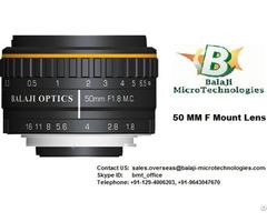 F Mount Machine Vision Lenses