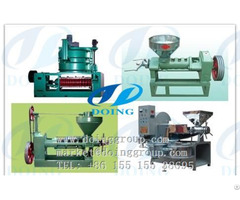 Screw Cooking Oil Press Equipment