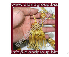 Doctoral Tam Gown Bullion Tassel