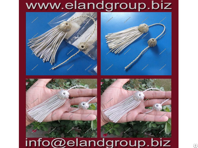 Doctoral Tam Silver Tassels Supplier