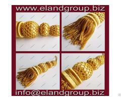 French Golden Bullion Tassels