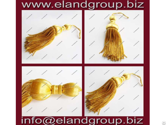 Gold Bullion Tassels