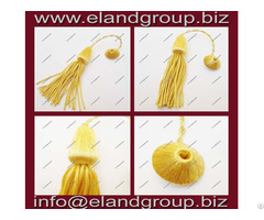 Gold Bullion Wire Tassel