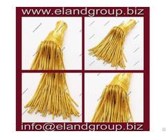 Gold Bullion Wire Tassels