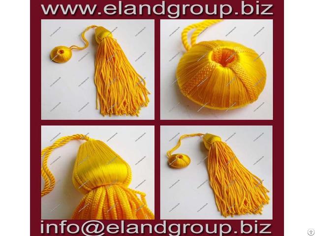 Gold Doctoral Silk Tassel