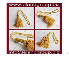 Gold French Bullion Wire Tassels Supplier