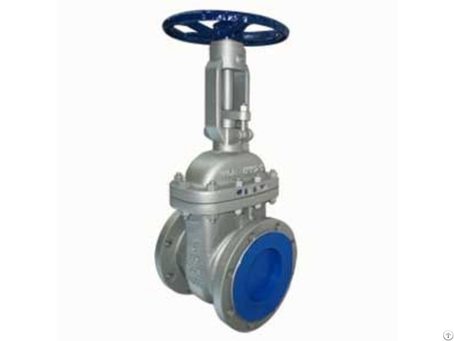 Astm A216 Wcb Gate Valves Dn150 A182 F6 Trim Gray Painting Treatment