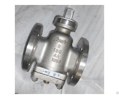 Api 6d Plug Valves Pn20 Dn80 A995 4a