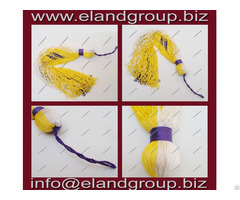 Graduation Yellow And Blue Cap Tassels Supplier