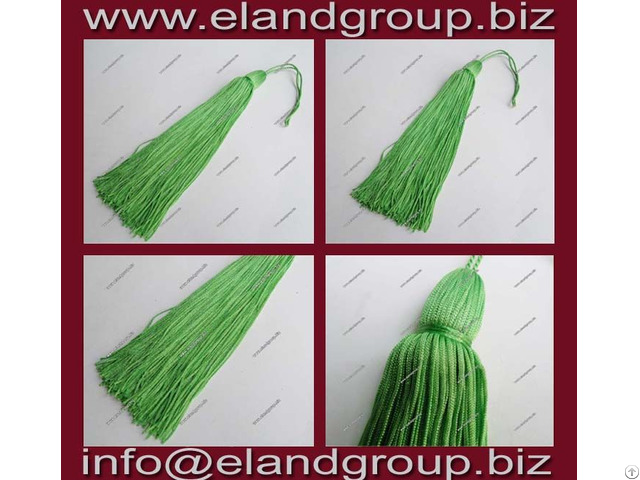 Green Graduation Cap Tassel