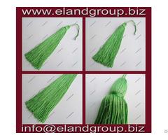 Green Graduation Cap Tassel
