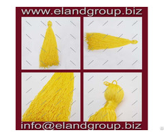 Yellow Graduation Cap Tassels