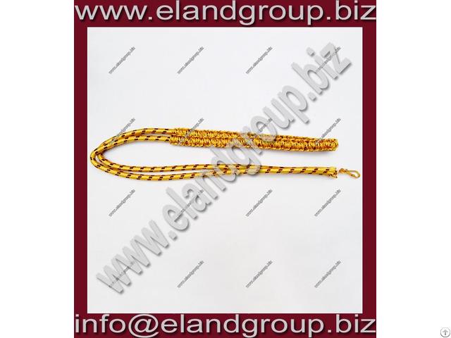Army Band Gold Lanyard