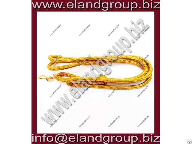 Military Gold Lanyard