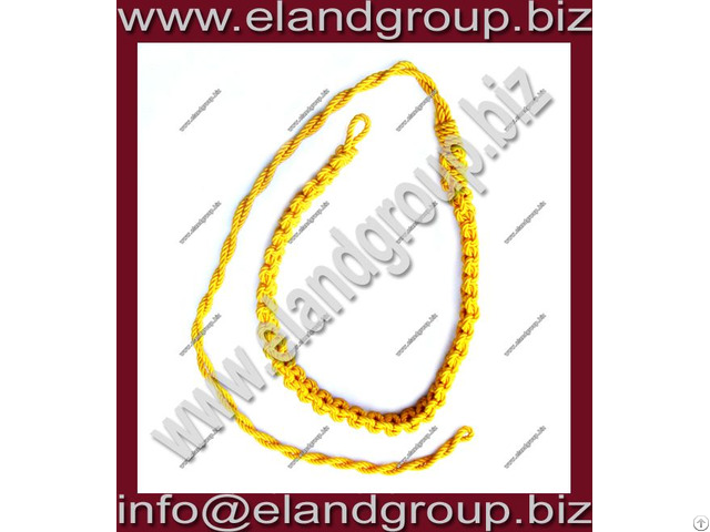 Military Officer Lanyard