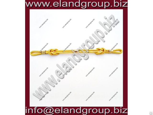 Military Cap Cord Gold