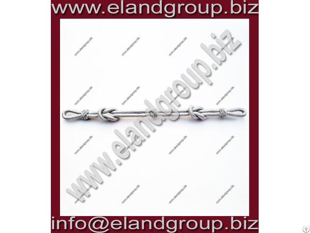 Silk Silver Cap Cords