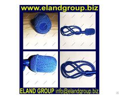 Blue Silk Sword Knot