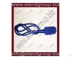 German Blue Silk Sword Knot