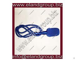 German Blue Silk Sword Knot