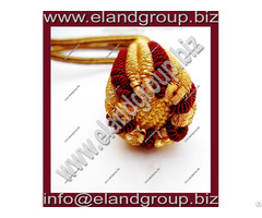 Gold Burgundy Sword Knot