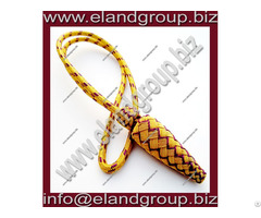 Gold And Purple Sword Knot