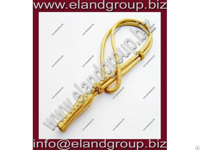 Gold Mylar Wire Sword Knot