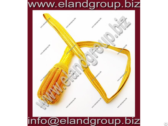 Officers Gold Deluxe Sword Knot