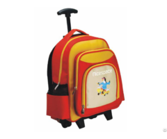 Kids School Bag With Wheels For Girls