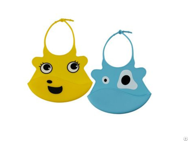 Water Proof Baby Bid And Silicone Bibs For Kids