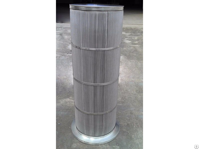 Pleated Sintered Mesh Filter