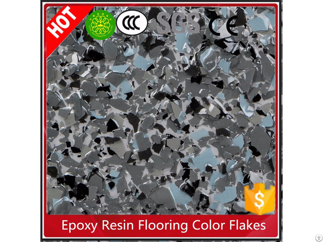 Epoxy Resin Color Flakes For Garage Flooring Granite Imitation Paint-mesiden