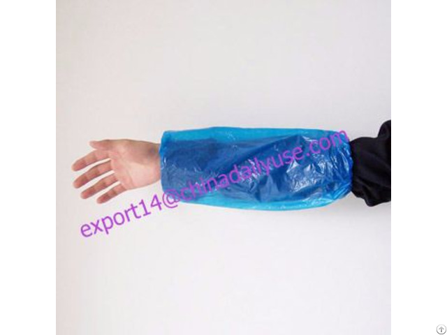 Good Quality Ldpe Sleeve Cover By Ce Fda Iso Approved