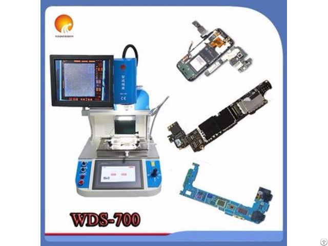 Sole Manufacturer Optical Alignment Bga Rework Station Wds 700 Automatic Mobile Phone Repair Machine